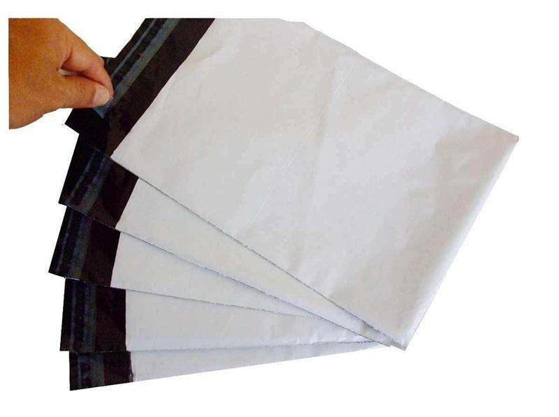 envelope saco plástico